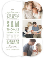 Little Man Birth Announcements
