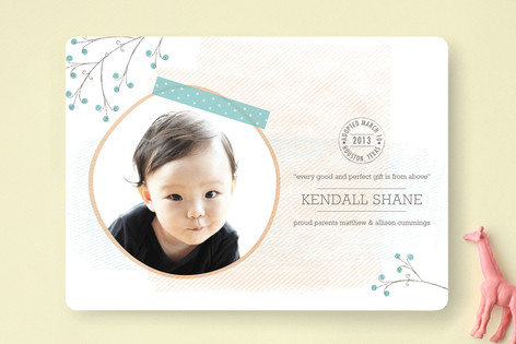 Gift from Above Birth Announcements