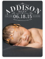 Precious Birth Announcements