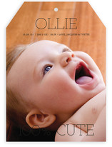 100 Percent Cute Birth Announcements