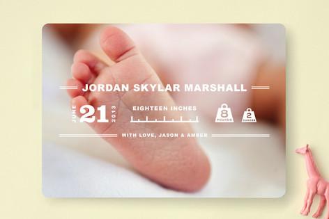 Baby Specs Birth Announcements