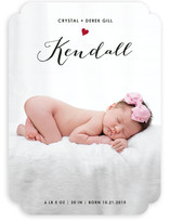 Little Heart Birth Announcements