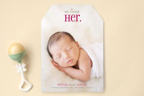 Chosen Birth Announcements