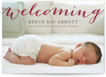 Welcoming Birth Announcements