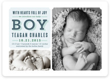 Full of Joy Birth Announcements