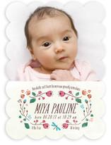 Floraison Birth Announcements