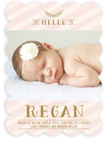 Chic Debut Birth Announcements