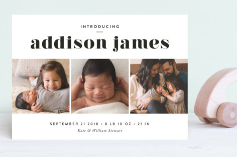 Avenue Birth Announcements