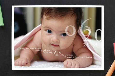 Belle Memoire Birth Announcements