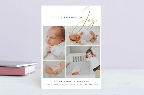 little bundle of joy Birth Announcements