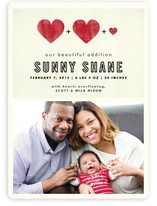 A Beautiful Addition Birth Announcements