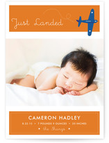 Fly By Baby Birth Announcements
