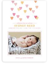 Hearts Abound Birth Announcements