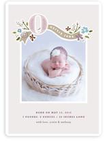 Fairy Tale Beginnings Birth Announcements