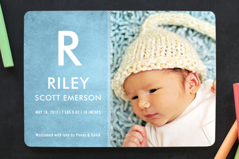 Twinkle in My Eye Birth Announcements