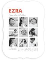 Nine Square Birth Announcements
