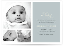 O' Baby Baby Birth Announcements