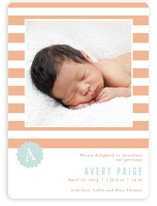 Striped Delight Birth Announcements