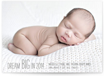 Dream BIG Birth Announcements