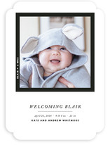 Framed Wonder Birth Announcements
