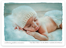 Aquarelle Birth Announcements