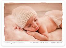 Aquarelle Birth Announcements