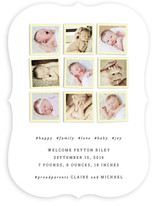 Insta-grid Birth Announcements