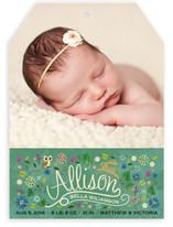 Storybook Forest Birth Announcements