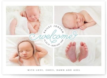 Much Love Birth Announcements