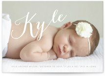 My Name Birth Announcements