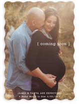 Baby Bracket Birth Announcements