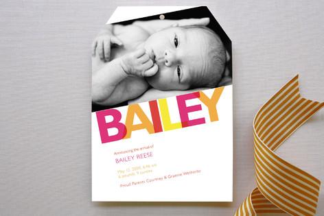 Bailey Birth Announcements