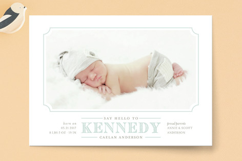 Simplicity Birth Announcements