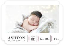 Birth Stats Birth Announcements