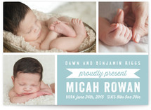 Proudly Presents Birth Announcements