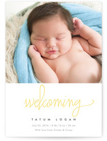 Simply Adorable Birth Announcements