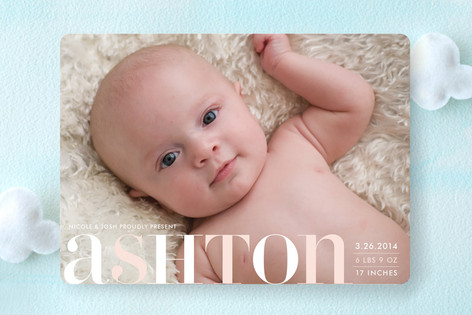Name Day Birth Announcements