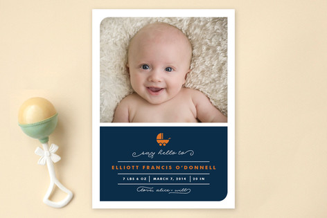 Buggy Birth Announcements