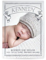 Banner Day Birth Announcements