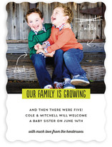 Growing Family Birth Announcements