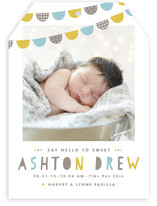Baby Bunting Birth Announcements