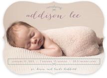 Petite Bow Birth Announcements