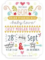 Brand Spanking New Birth Announcements