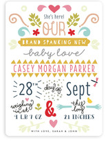 Brand Spanking New Birth Announcements