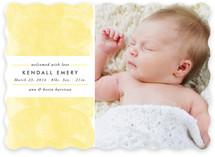 Whisper Birth Announcements