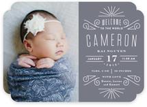 Petite Deco Birth Announcements