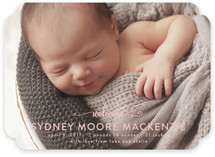 Sweet Welcome Birth Announcements