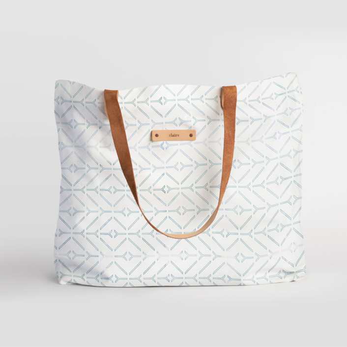 Coastal Carry-All Slouch Tote