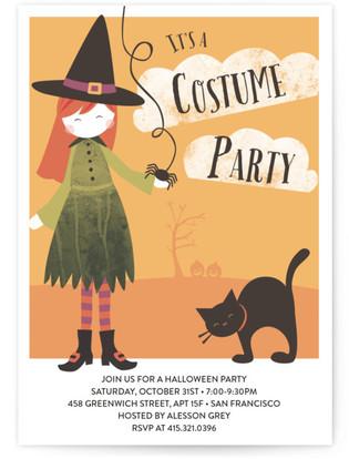 Bella's Bash Children's Birthday Party Invitations