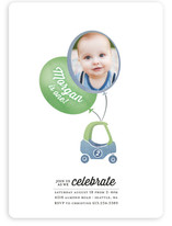 Zoomin Photo Balloon Children's Birthday Party Invitations